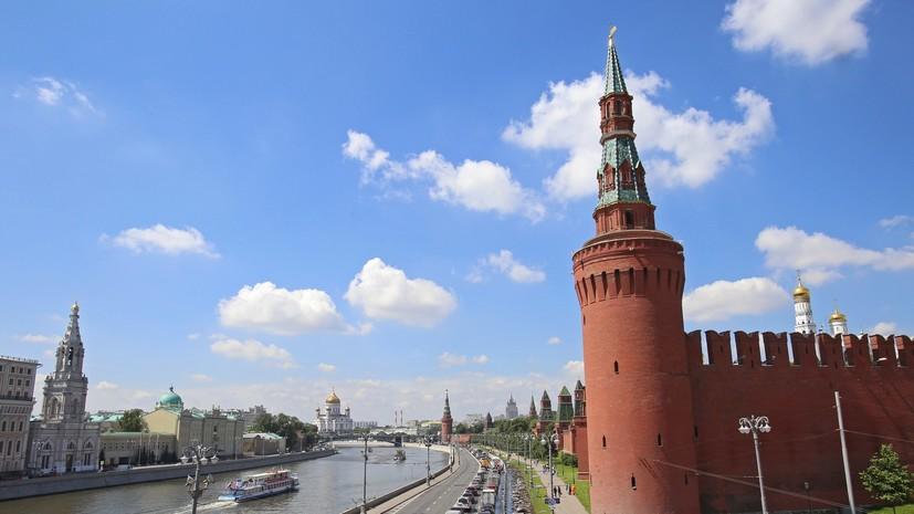 Движение в центре Москвы ограничат 28 июля из-за празднования дня Крещения Руси