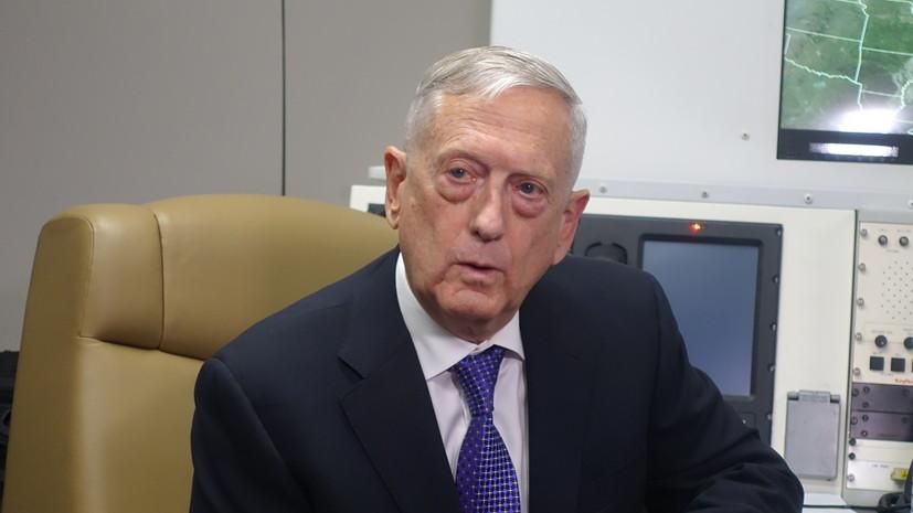 Глава Пентагона рассматривает возможность переговоров с Шойгу