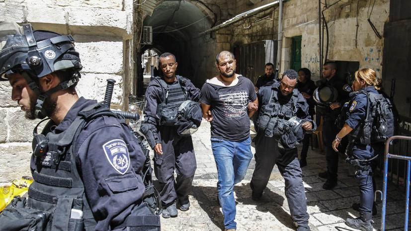 Полиция Израиля задержала 24 человека после волнений в Иерусалиме