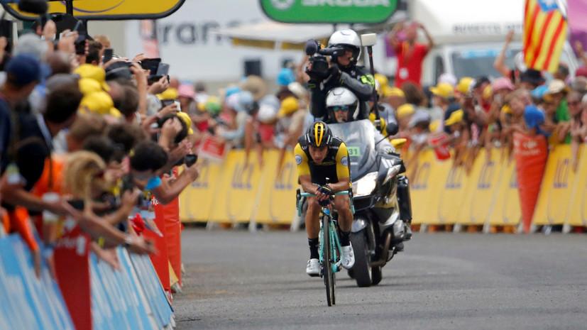 Англичанин Томас впервый раз стал победителем велогонки «Тур деФранс»