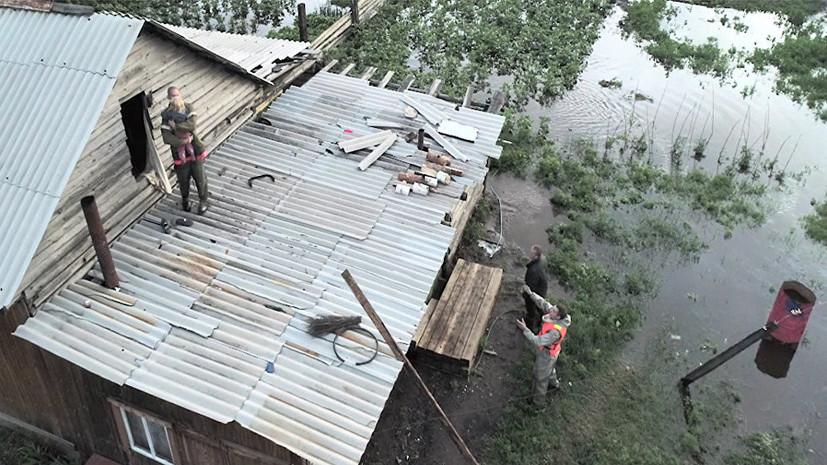 Правительство выделило Забайкалью более 238 млн рублей на ликвидацию последствий паводка