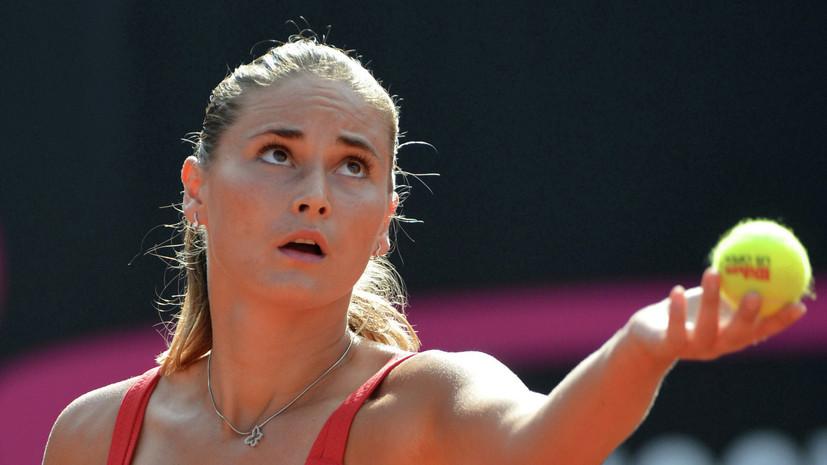 Панова и Воскобоева вышли в финал турнира WTA в Москве в парном разряде