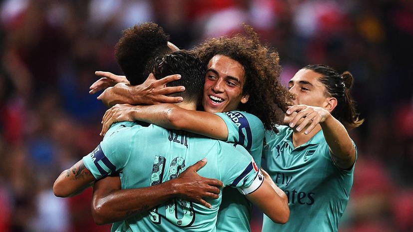 «Арсенал» разгромил ПСЖ в матче Международного кубка чемпионов
