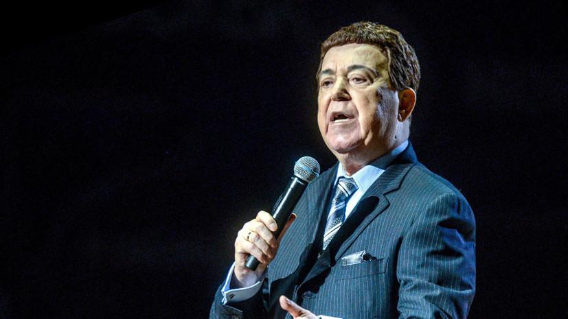 «Великий певец, великий гражданин»: на 81-м году жизни скончался Иосиф Кобзон