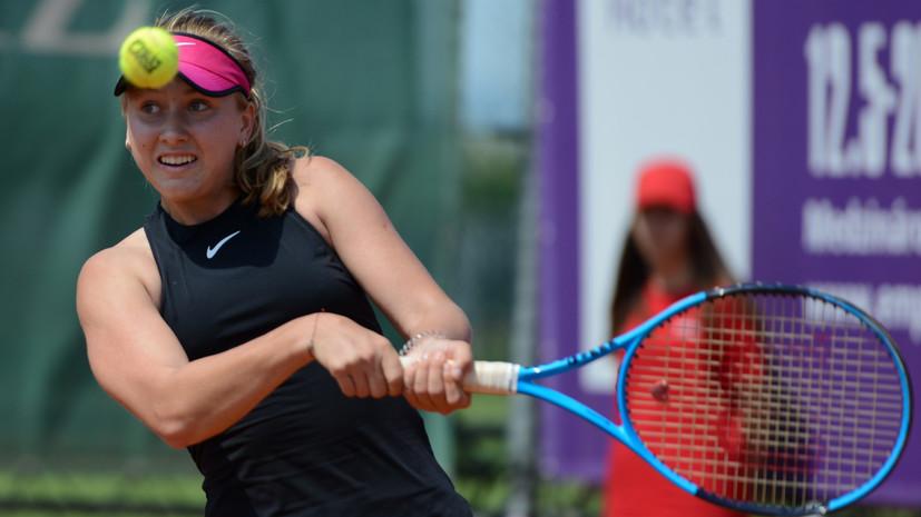 Потапова и Звонарёва завоевали титул турнира WTA в Москве в парном разряде