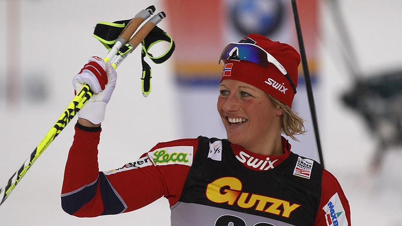 Авария на водном мотоцикле: в Норвегии погибла олимпийская чемпионка по лыжным гонкам Вибеке Скофтеруд