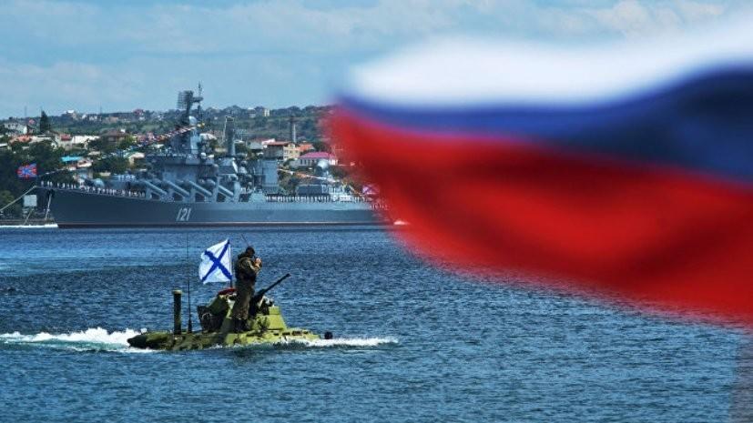 В парадах ко Дню ВМФ приняли участие более 50 судов Черноморского флота
