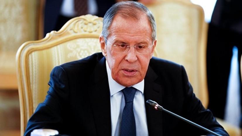 Лавров назвал неприемлемым предложенный Украине выбор между Россией и Европой