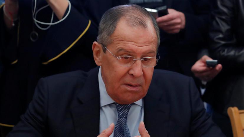 Лавров назвал аномалией текущее состояние отношений между Россией и Украиной