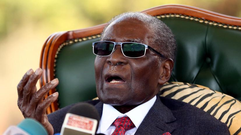 Мугабе проголосовал на выборах в Зимбабве