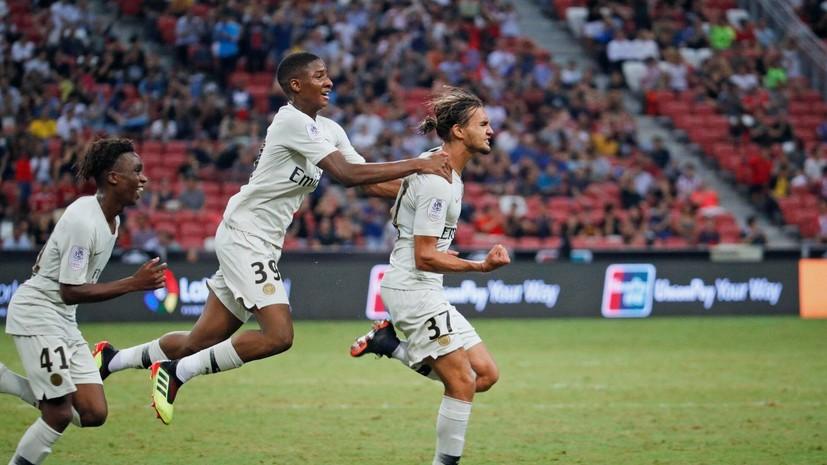 ПСЖ одержал победу над «Атлетико» в матче Международного кубка чемпионов