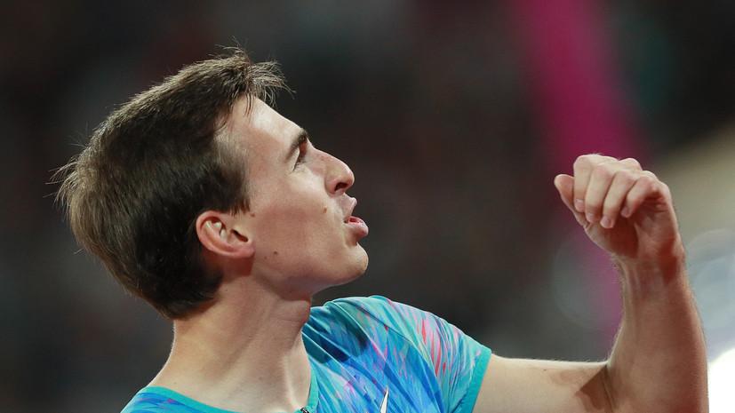Шубенков поделился ожиданиями от выступления на ЧЕ по лёгкой атлетике
