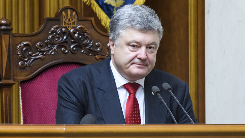 Порошенко поприветствовал санкции ЕС по Крыму