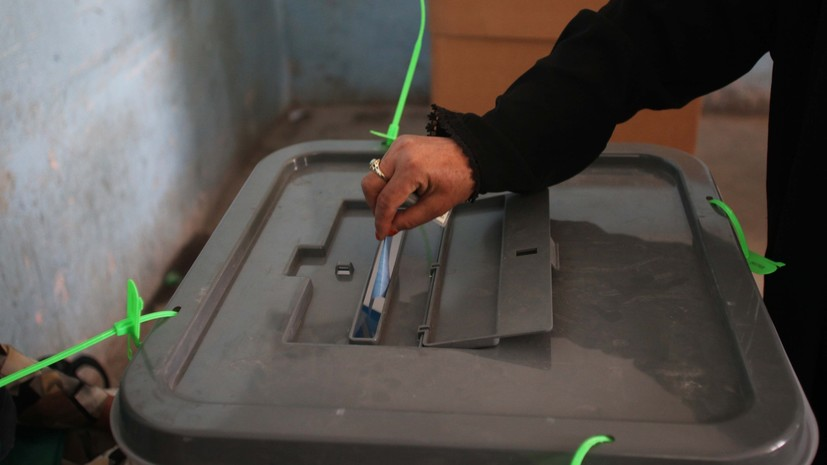 The date of presidential elections in Afghanistan is