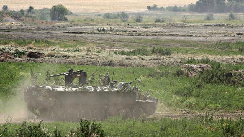 В ДНР заявили об обострении ситуации у линии соприкосновения в Донбассе