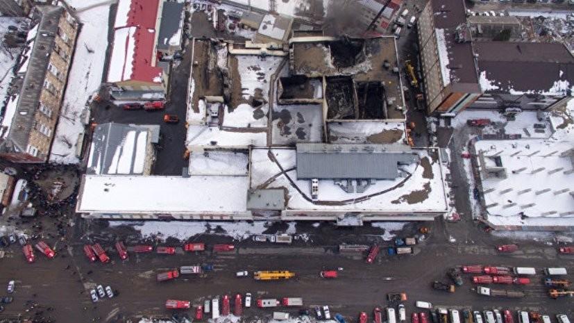 Завершено предварительное следствие в отношении семи обвиняемых по делу о пожаре в ТЦ «Зимняя вишня»
