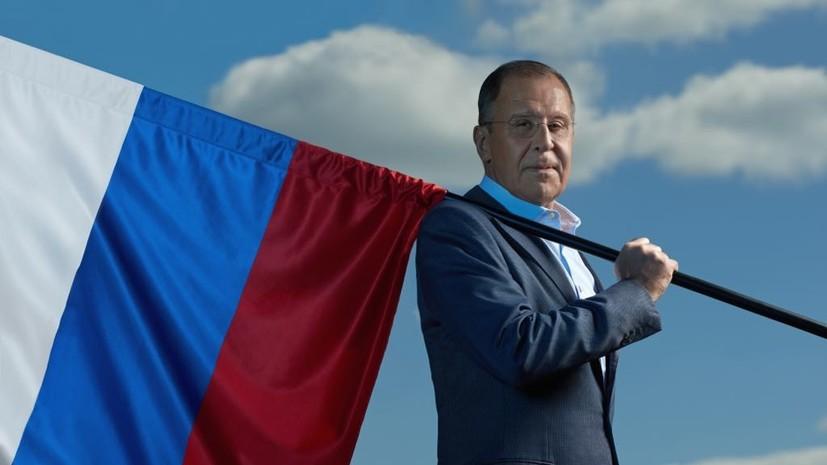 МИД России опубликовал «целебное фото» с Лавровым