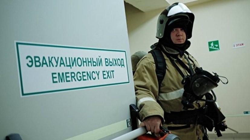 Спасатели начали учения в торговых центрах Иркутска