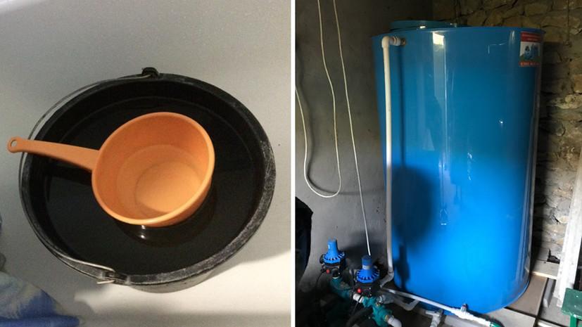 «Горячая в одной квартире, холодная — в другой»: как дагестанский город 25 лет живёт без питьевой воды