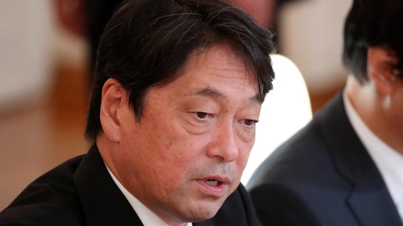 Министр обороны Японии заявил, что системы ПРО страны не направлены против России