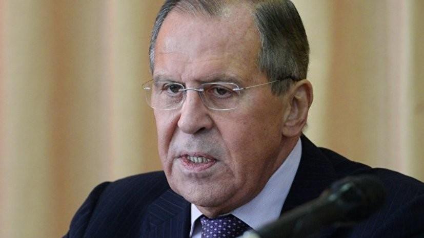 Лавров заявил, что в России обеспокоены ситуацией в Армении