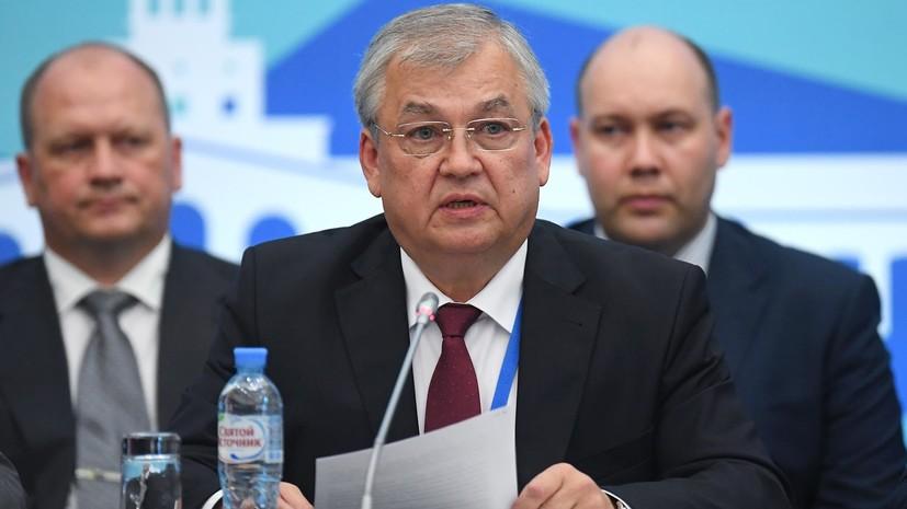 Лаврентьев заявил об отсутствии доверия между оппозицией и сирийским правительством