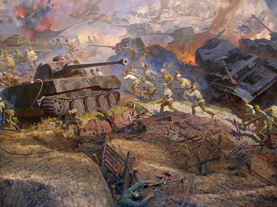 Танковое сражение на курской дуге у деревни прохоровка картинки