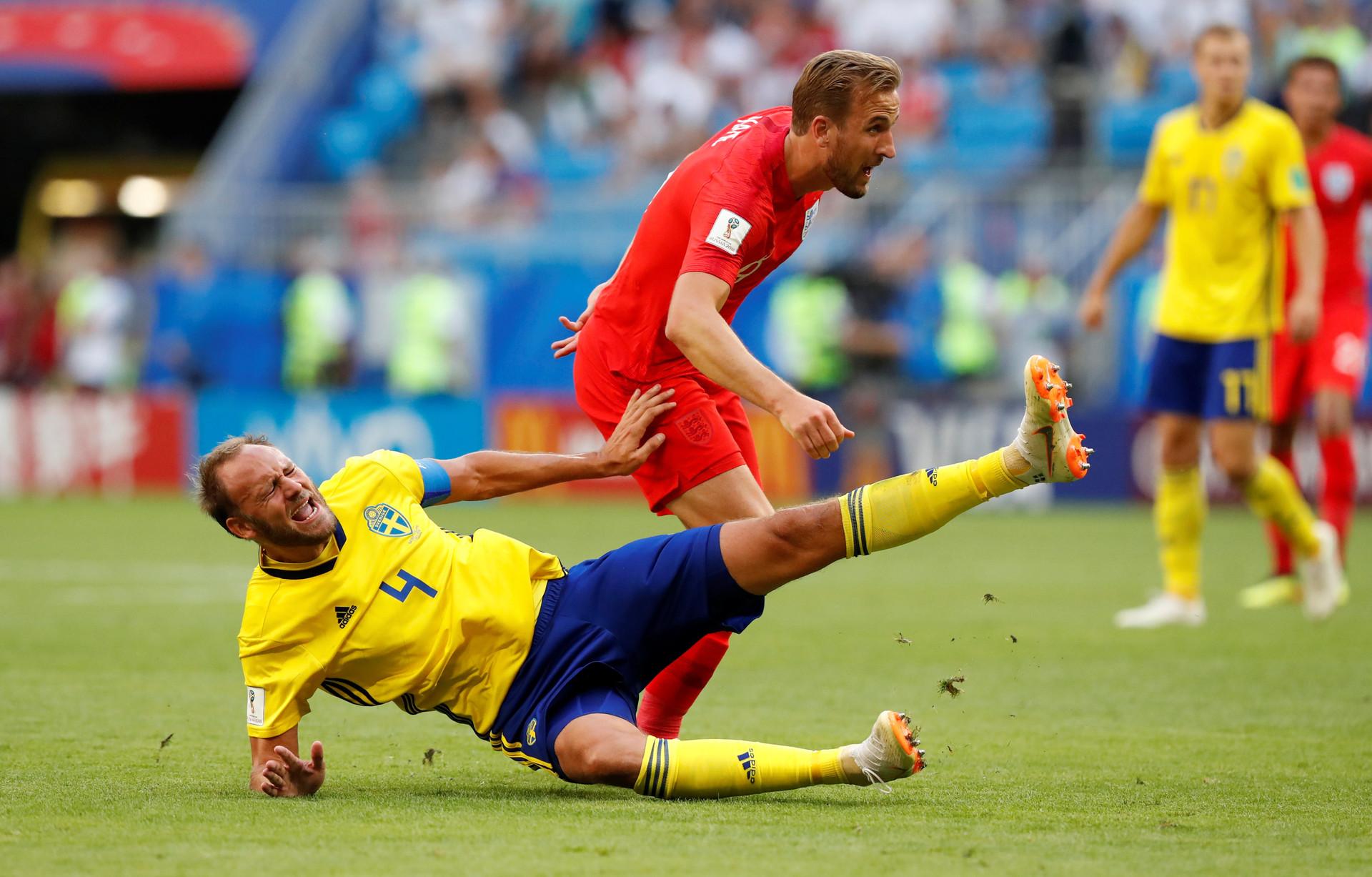 Великобритания обыграла Швецию ипрошла вполуфиналЧМ