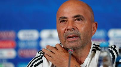 СМИ: Сампаоли покинет пост главного тренера сборной Аргентины по футболу