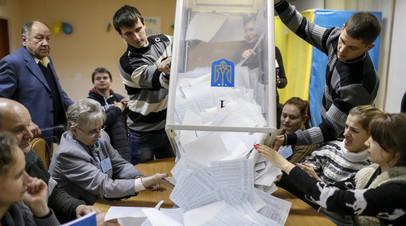 Процесс подсчёта голосов на выборах, Украина