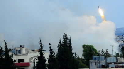 Военные действия на юге Сирии