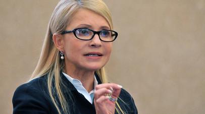Тимошенко рассказала о планах Порошенко сорвать президентские выборы
