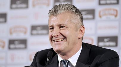 Президент Хорватского футбольного союза Давор Шукер