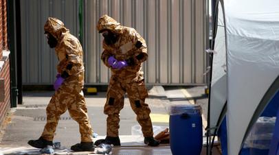 «Открыто дело об убийстве»: в Британии скончалась отравившаяся нервно-паралитическим веществом женщина