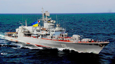 Украинский фрегат «Гетман Сагайдачный» © Ministry of Defense of Ukraine / Flickr