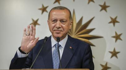 Эрдоган принёс президентскую присягу