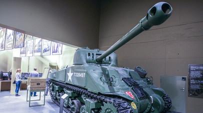 Американский танк времён Второй мировой войны привезут в Хабаровск к юбилею ВВО