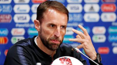 «Мы подняли планку на уровень, ниже которого нельзя опускаться»: Саутгейт о подготовке Англии к полуфиналу ЧМ-2018