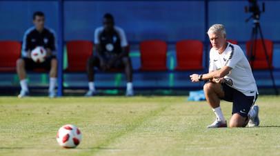 Блан надеется, что Дешам сможет передать футболистам сборной Франции опыт, необходимый для победы в финале ЧМ-2018