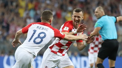 Хорватия сравняла счёт в финале ЧМ-2018 с Францией