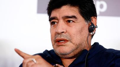 Марадона прокомментировал обвинения некоторых СМИ в возможном употреблении допинга сборной России