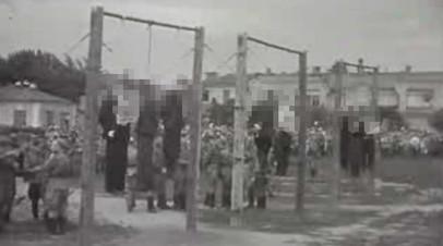 Казнь осуждённых на Краснодарском процессе