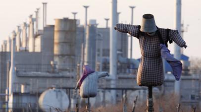 Газоперекачивающая станция в украинском поселке Орловка © Gleb Garanich