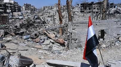 Россия и Франция совместно доставят гуманитарную помощь в Восточную Гуту