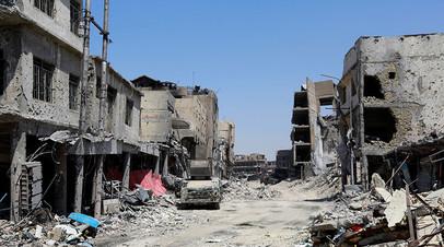 Старый Город Мосула в июле 2017 года