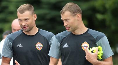 Алексей Березуцкий и Василий Березуцкий