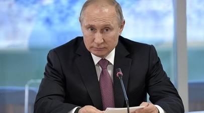 Путин обсудил с Пашиняном вопросы сотрудничества России и Армении