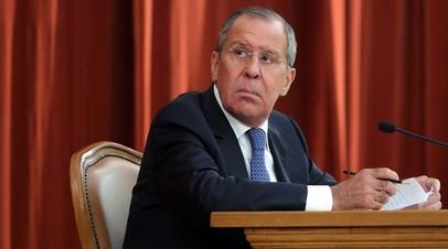 Лавров и Герасимов обсудили с Макроном ситуацию в Сирии