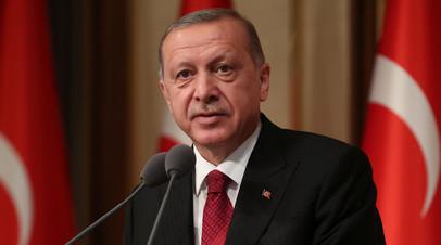 Эрдоган рассказал о предстоящей встрече с Путиным