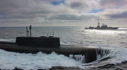 Репетиция парада Северного флота ко Дню ВМФ